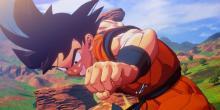 Goku ready for action in Dragonball Z Kakarot