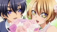 Ryouma and Izumi as children