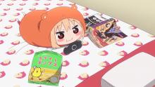 Umaru having some good R&R.