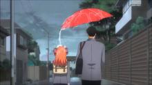 Nozaki letting Sakura get All wet