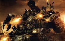 Ork Trukk blazing into battle
