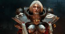A chapter of Space Marines comprised of all women, the Sisters of Battle are as fearless and ruthless as their Space Marine brethren