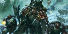 This squad of Wolfguard rushes into battle for the glory of the Emperor