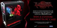 A custom PC giveaway for Bayonetta