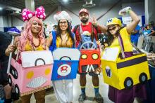 Always wondered how to cosplay like Mario Kart? Well, here it is!
