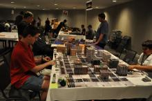 You should try out the tabletop games at the cons!