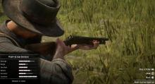 RDR2 Pump-Action Shotgun