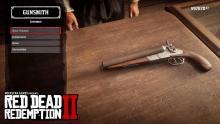 RDR2 Sawed-Off Shotgun