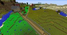 Go big or go home with a huge farmland plot!