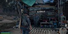 This is where you'll buy weapons at Ada's encampment in days gone
