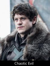 Ramsay Bolton is an Example of a Chaotic Evil Character.