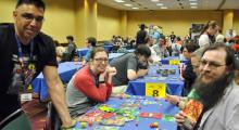 Playing tabletop games
