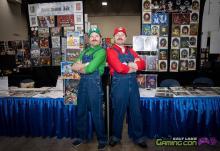Mario and Luigi prepared for SLGC