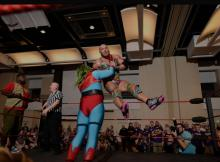 Only at Dragon Con can you body slam someone professionally