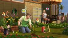 Gardener Sims can earn a Green Thumb Trait!