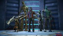 Guardians of the Galaxy crew