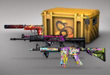 Latest CSGO case with awesome looking skins
