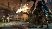 Blow the enemy up in Gears of War 4