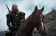 Henry Cavill plays Geralt of Rivia