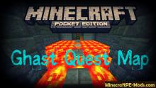 Another PE Map avaliable for donwload is the Ghast Quest Mod