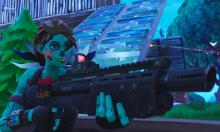 The undead Ghoul Trooper and the heavy shotgun are a fierce duo.