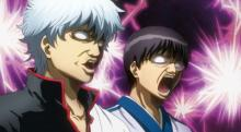 Gintama has to be one of the top anime that has over the top facial expressions