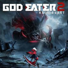 The cover image for God Eater 2 Rage Burst.