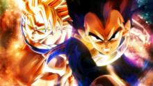 Super Saiyan Goku and Vegeta
