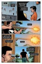 Frank Castle carries out vigilante justice.