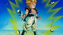 The character of Gotenks gets his first real substantive fight, the opponent being Super Buu.