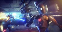 The BX Commando Droid destroys a power cell