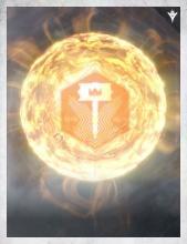 The symbol of the Sunbreaker Legion from Destiny's Grimoire