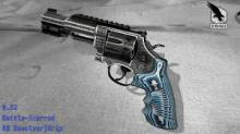 The trippiest blue revolver you can ever find!