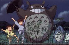 Experience the magic the forest has to offer alongside Satsuki and Mei when the meet the friendly forest spirit Totoro.