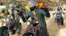 Gamers can do more than rob banks and visit ilicit businesses in GTA V. With continued updates there are a huge range of motorbikes to choose from.