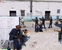 Fight alongside police and gangs