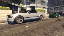 There are tons of muscle cars to find in GTA 5