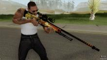 The AWP   Dragon Lore is so iconis a skin that it has made appearences in other games through modding