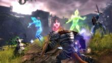 The minions in the first GW2 raid add color.