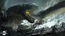 GW2 players must face off against giant dragon Tequatl.