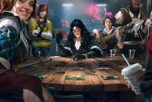 Play with characters from the Witcher 3 and real live opponents