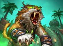 This beast fills your hand with 1/1 Lynxes with rush