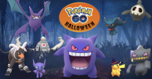 Stay tuned on the Pokemon Go event site for details about next year's Halloween event!