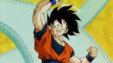 Goku with Halo on Snake Road