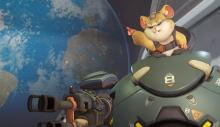 Hammond of Overwatch in one of his highlight intros