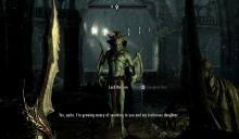Lord Harkon, one of your possible enemies in the Dawnguard DLC.