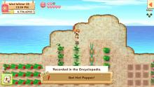 Though you start with little, each harvested crop helps you grow in Harvest Moon: Light of Hope