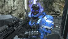 Your reward for reaching max rank in Halo: Reach