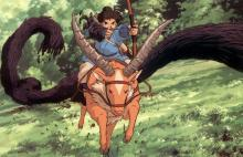 "While the film is called ""Princess Mononoke"", Ashitaka is the actual protagonist."