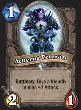 A one cost minion with a valuable special effect.
